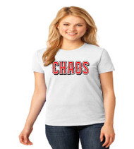 Chaos Baseball Ladies Basic T-Shirt