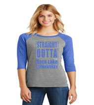 rock lake ladies raglan
