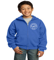 sadler zip up youth