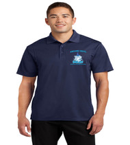 Gregory drive mens dri fit polo