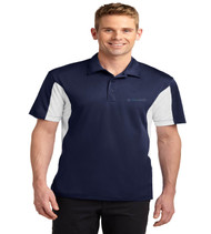 Durbin Creek Men's Color Block Dri-Fit Polo