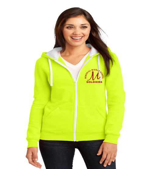 mem orl ladies zip up