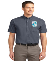 Southwest Men's Short Sleeve Button-up