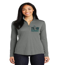 Southwest Middle Track Ladies Dri-Fit 1/4 Zip Pullover