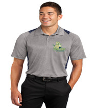 Three Points Men's Color Block Dri-Fit Polo