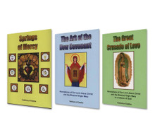 SET I - Formational Teachings - Three Books - English - Set Includes: Springs of Mercy, The Ark of the New Covenant and The Great Crusade of Love