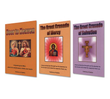 SET II - Formational Teachings - Three Books - English - Set Includes: The Door To Heaven, The Great Crusade of Mercy and The Great Crusade of Salvation