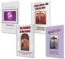 4 Book Special on the Passion - English - The Passion, The Stations of the Cross, From Sinai to Calvary and I Have Given My Life for You