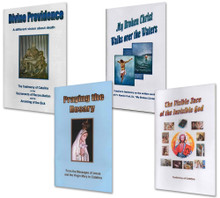 4 Book Special on Spiritual Testimonies - English - Divine Providence, My Broken Christ Walks Over Water, Praying the Rosary and The Visible Face of the Invisible God