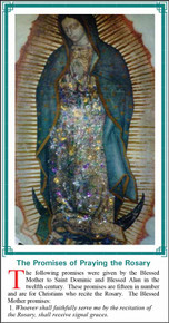 Promises of Praying the Rosary - English - Pack of 25 Holy Cards