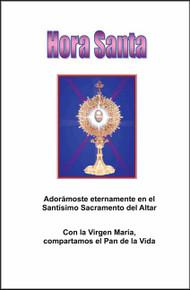 HORA SANTA - Spanish