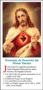 Sagrado Corazón de Jesús - Paquete de 25 Tarjetas - Spanish