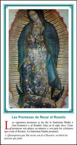 Nuestra Senora De Guadalupe - Paquete de 25 Tarjetas - Spanish