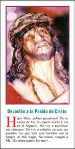 Devocion A La Pasion De Cristo - Paquete de 25 Tarjetas - Spanish