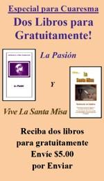 2 Libros gratis - ¡LIMITE UN JUEGO! - La pasión y la Santa Misa - Español