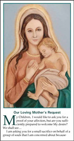 Our Loving Mother's Request - English - Pack of 25 cards