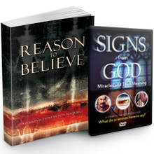 Reason to Believe book + Signs from God DVD Bundle