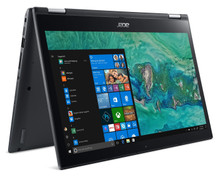 "Acer Spin 3 2-in-1 Laptop: Core i3-8130U, 256GB SSD, 8GB RAM, 14"" Full HD Touch Display"