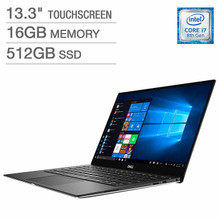 "Dell XPS 13 9380 Ultrabook: Core i7-8565U, 512GB SSD, 16GB RAM, 13.3"" UHD Touch Display"