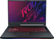 "ASUS ROG Strix G Series Laptop: Core i7-9750H, 512GB SSD, 16GB RAM, 17.3"" Full HD Display, NVidia GTX 1660 Ti"