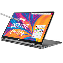 "LG Gram 14T 2-in-1: Core i7-8565U, 512GB SSD, 16GB RAM, 14"" Full HD IPS Touch Display, Wacom AES Pen included"