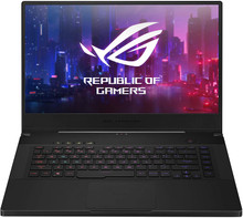 "ASUS ROG Zephyrus M Gaming Laptop: Core i7-9750H, 512GB SSD, 16GB RAM, 15.6"" FHD 144Hz Display, NVidia GTX 1660 Ti"