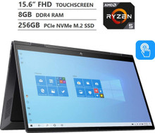 "HP Envy x360 2-in-1 Laptop: Ryzen 5 4500U, 256GB SSD, 8GB RAM, 15.6"" Full HD IPS Touch Display"