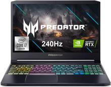 "Acer Predator Triton 300 Laptop: Core i7-10750H, NVidia RTX 2070, 512GB SSD, 16GB RAM, 15.6"" 240Hz IPS Full HD Display"