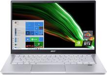 """Acer Swift X Laptop: Ryzen 7 5800U, 16GB RAM, 512GB SSD, NVidia RTX 3050 Ti, 14"""" Full HD IPS Display"""