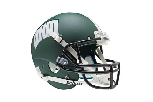 Ohio University Bobcats Alternate Green Schutt Full Size Replica XP Football Helmet