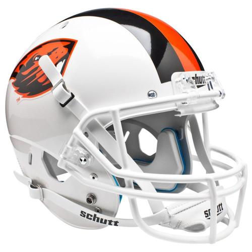 Oregon State Beavers Alternate White Schutt Full Size Replica XP Football Helmet