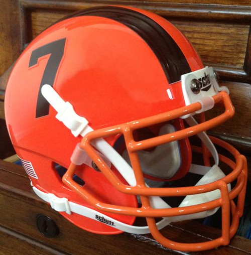 Oregon State Beavers Alternate Orange Schutt Full Size Replica XP Football Helmet