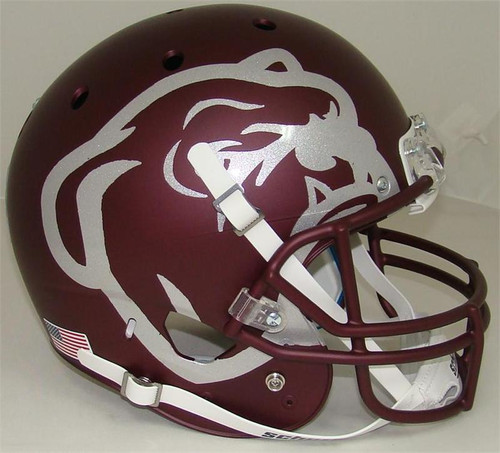 Mississippi State Bulldogs Alternate Red Bulldog Schutt Full Size Replica XP Football Helmet