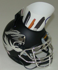 Missouri Tigers Alternate Chrome Mini Helmet Desk Caddy by Schutt