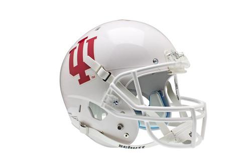 Indiana Hoosiers Alternate White Schutt Full Size Replica XP Football Helmet