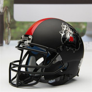 Fresno State Bulldogs Alternate Black Schutt Mini Authentic Helmet