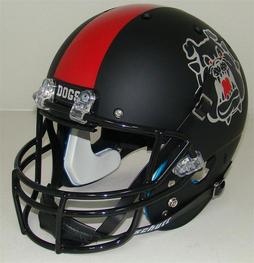 Fresno State Bulldogs Alternate Black Schutt Full Size Replica XP Football Helmet