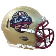 Florida State Seminoles 2013 NCAA BCS National Champions NCAA Riddell SPEED Mini Helmet