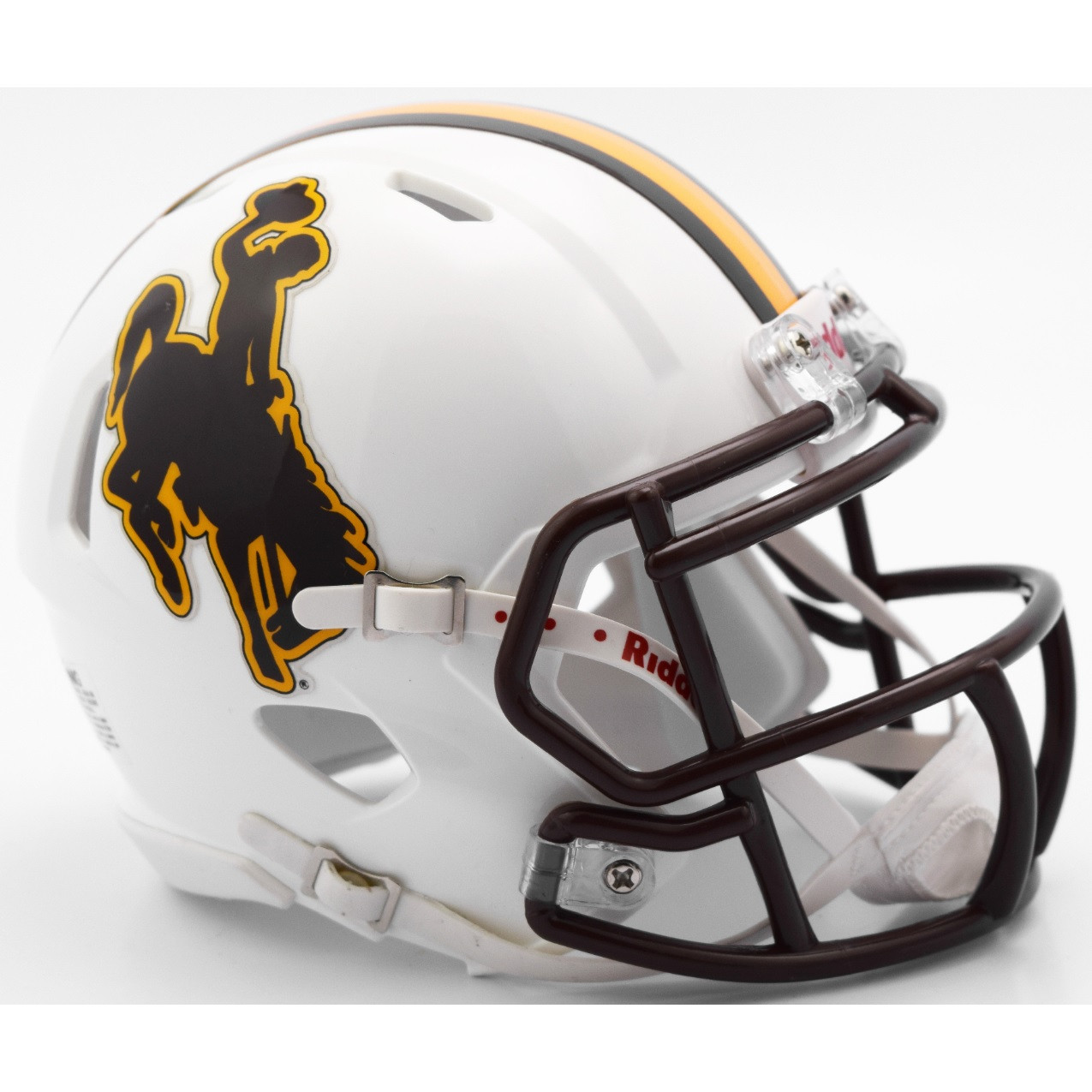 Riddell Wyoming Cowboys NCAA Revolution Speed Mini Football Helmet