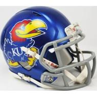 Kansas Jayhawks Bird NCAA Revolution SPEED Mini Helmet