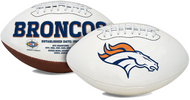 Signature Series NFL Denver Broncos Autograph Full Size Football