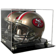DELUXE FULL SIZE FOOTBALL HELMET DISPLAY