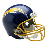 San Diego Chargers Throwback 1974-87 Riddell Full Size Replica Helmet