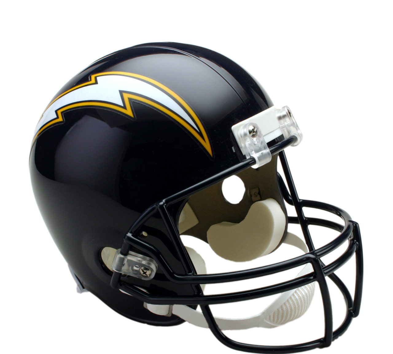 online store a4c89 1e2ee San Diego Chargers Throwback 1988-2006 Riddell Full Size Replica Helmet