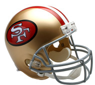 San Francisco 49ers Throwback 1964-95 Riddell Full Size Replica Helmet
