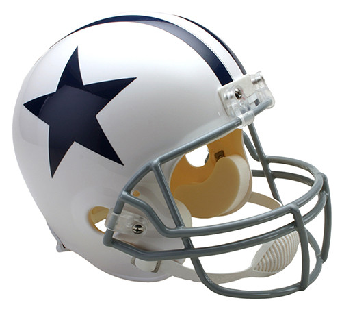 6fc78e7f0a9 Dallas Cowboys Throwback 1960-63 Riddell Full Size Replica Helmet. Riddell  · Image 1