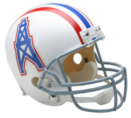 Houston Oilers Throwback 1975-80 Riddell Full Size Replica Helmet
