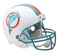Miami Dolphins Throwback 1980-96 Riddell Full Size Replica Helmet