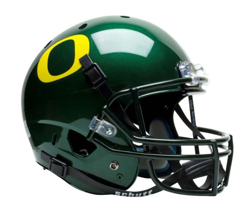 Oregon Ducks Schutt Full Size Replica XP Football Helmet - Green