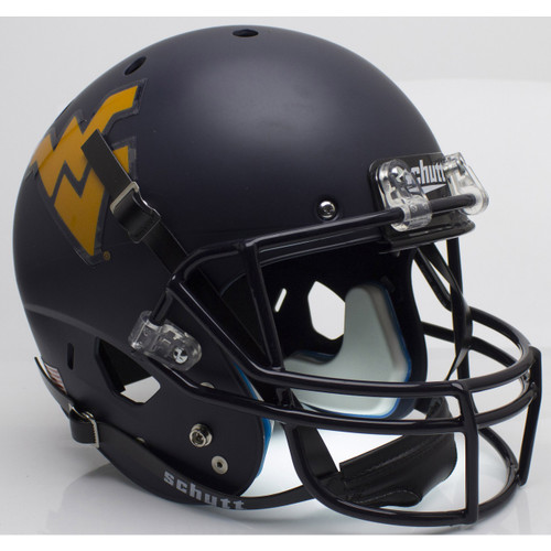 West Virginia Mountaineers Schutt Full Size Replica XP Football Helmet